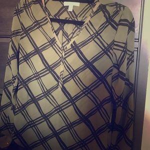 Banana Republic long sleeve blouse